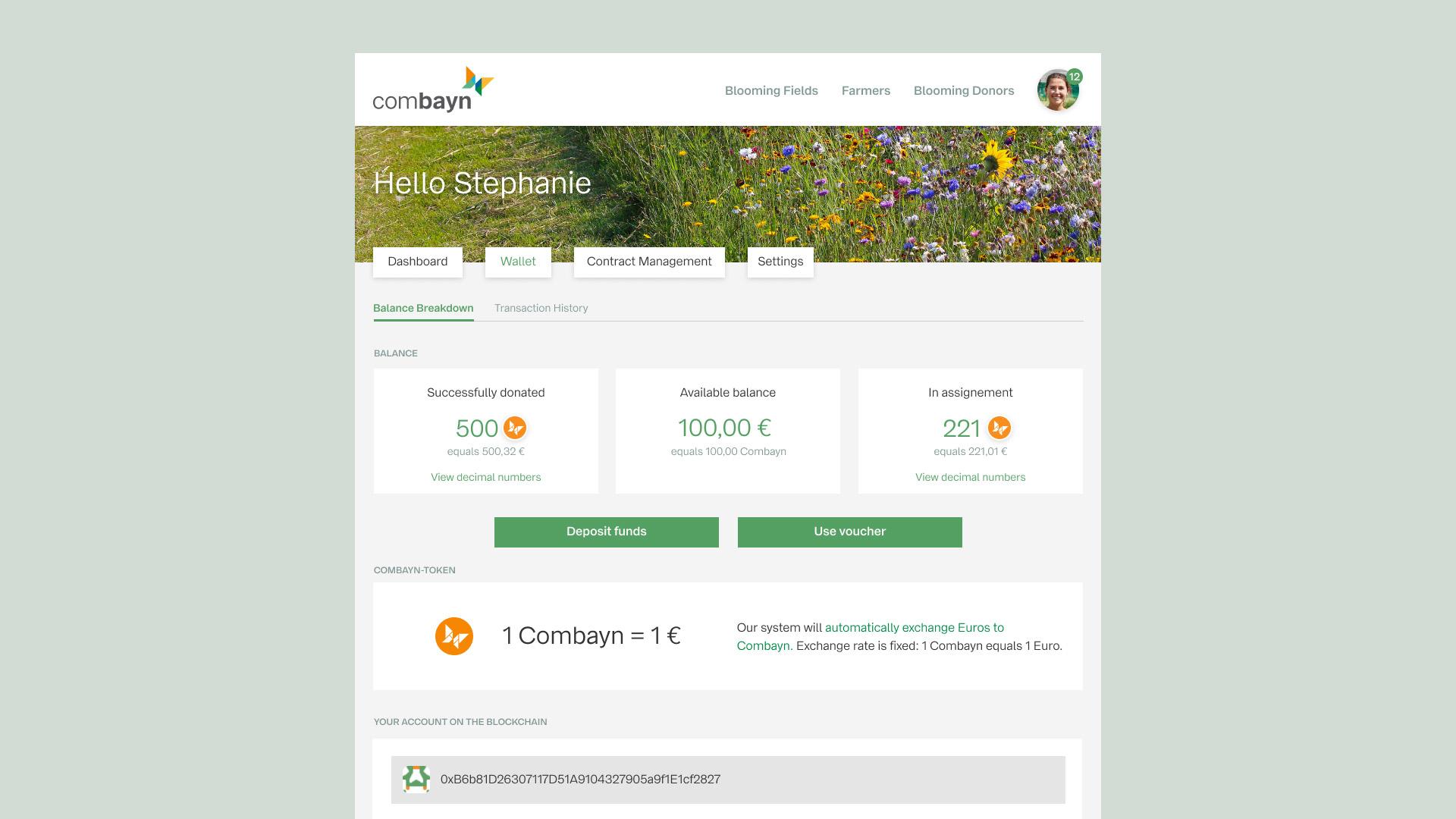 Combayn-Blockchain-Wallet-UI-UX-Design